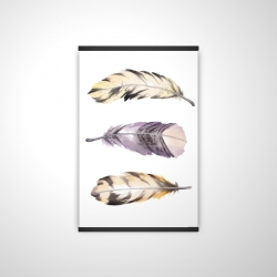 Magnetic 20 x 30 - 3D - Horizontal striped feather set
