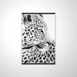 Magnetic 20 x 30 - 3D - Beautiful leopard