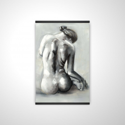 Magnetic 20 x 30 - 3D - Nude woman from behind