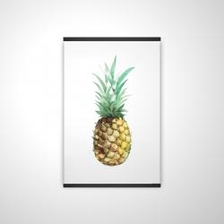 Magnetic 20 x 30 - 3D - Watercolor pineapple