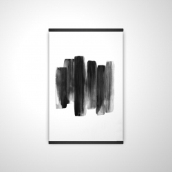 Magnetic 20 x 30 - 3D - Black shapes