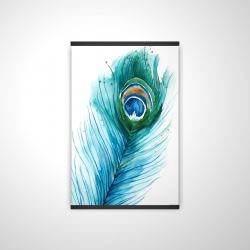 Magnetic 20 x 30 - 3D - Long peacock feather