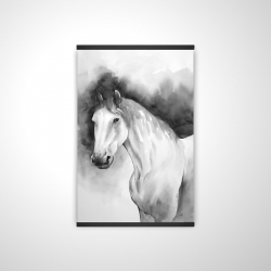 Magnetic 20 x 30 - 3D - Domino horse