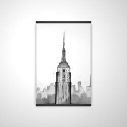 Magnetic 20 x 30 - 3D - Empire state building