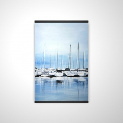 Magnetic 20 x 30 - 3D - Boats at the dock