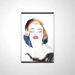 Magnetic 20 x 30 - 3D - Vintage chic maryline monroe