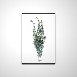 Magnetic 20 x 30 - 3D - Thyme leaves bundle - fr