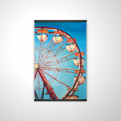 Magnetic 20 x 30 - 3D - Ferris wheel by a beautiful day