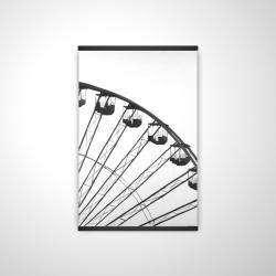 Magnetic 20 x 30 - 3D - Quarter of a ferris wheel