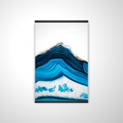 Blue geode profile