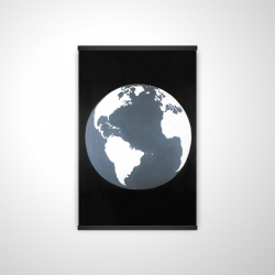 Magnetic 20 x 30 - 3D - Earth satellite view
