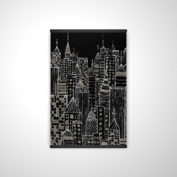 Magnetic 20 x 30 - 3D - Illustrative city towers