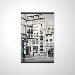 Magnetic 20 x 30 - 3D - Street scene in germany