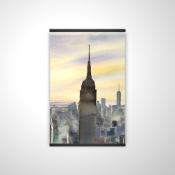 Magnetic 20 x 30 - 3D - Sunset over new york city