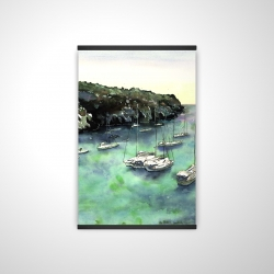 Magnetic 20 x 30 - 3D - Boats in cala macarella