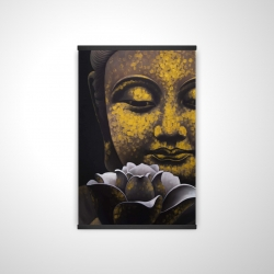 Magnetic 20 x 30 - 3D - The eternal smile of buddha and his lotus