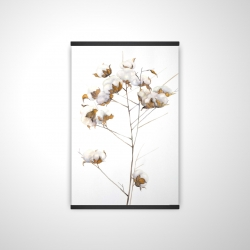 Magnetic 20 x 30 - 3D - Cotton flowers branch