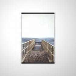 Magnetic 20 x 30 - 3D - Relaxing beach