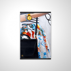 Magnetic 20 x 30 - 3D - Fashionable woman with glasses