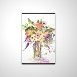 Magnetic 20 x 30 - 3D - Romantic bouquet