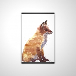 Magnetic 20 x 30 - 3D - Red fox