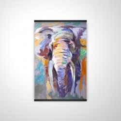 Magnetic 20 x 30 - 3D - Elephant in pastel color