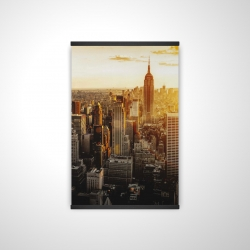 Magnetic 20 x 30 - 3D - New york city at sunset