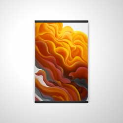 Magnetic 20 x 30 - 3D - Colorful smoke