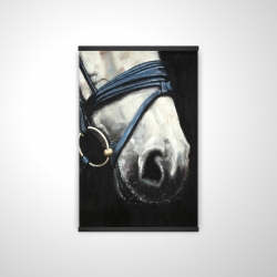 Magnetic 20 x 30 - 3D - Horse with harness