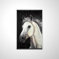 Magnetic 20 x 30 - 3D - White star horse