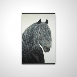 Magnetic 20 x 30 - 3D - Wild heart horse