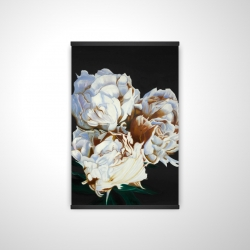Magnetic 20 x 30 - 3D - Blooming peonies