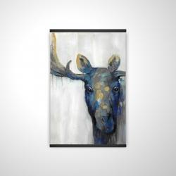 Magnetic 20 x 30 - 3D - Blue moose