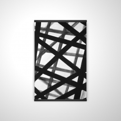 Magnetic 20 x 30 - 3D - Abstract bold lines