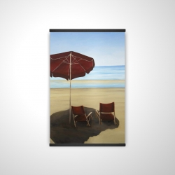 Magnetic 20 x 30 - 3D - Relax at the beach