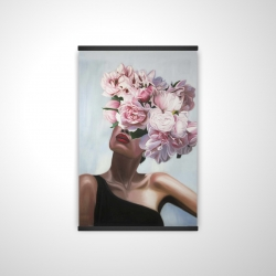 Magnetic 20 x 30 - 3D - See life in flowers