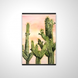 Magnetic 20 x 30 - 3D - Weberocereus cactus