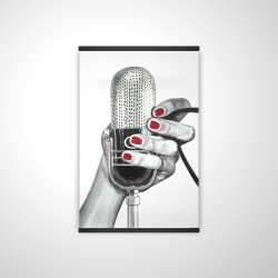 Magnetic 20 x 30 - 3D - Sing your life