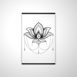 Ethnic lotus ornament