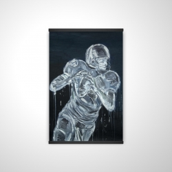 Magnetic 20 x 30 - 3D - Football player