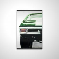 Magnetic 20 x 30 - 3D - Classic dark green car
