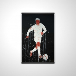 Magnetic 20 x 30 - 3D - Soccer player