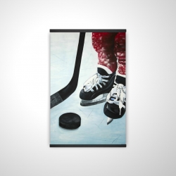Magnetic 20 x 30 - 3D - Young hockey player