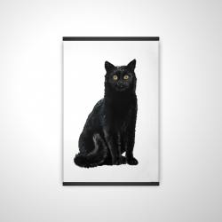Magnetic 28 x 42 - 3D - Black cat