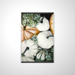Magnetic 20 x 30 - 3D - Fall pumpkins