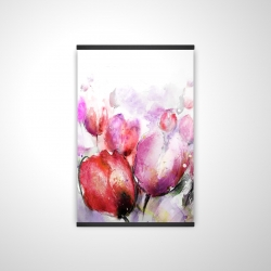 Magnetic 20 x 30 - 3D - Abstract blurry tulips