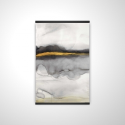 Magnetic 20 x 30 - 3D - Gold stripe abstract