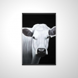 Magnetic 20 x 30 - 3D - White cow