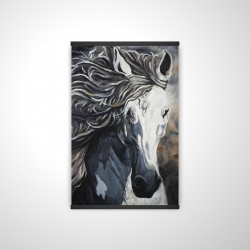 Magnetic 20 x 30 - 3D - Front wild horse