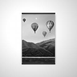 Magnetic 20 x 30 - 3D - Air balloon landscape